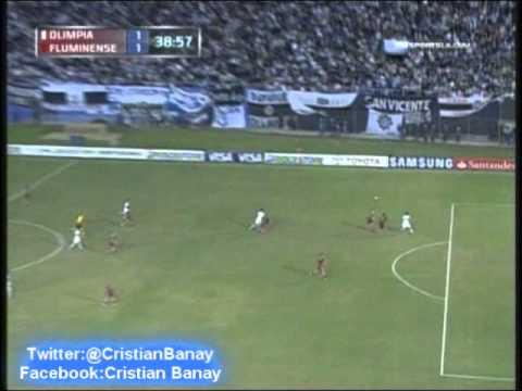 Olimpia de Paraguay 2 Fluminense 1 (Audio Radio Cardinal ) Copa Libertadores 2013  (29/5/2012)