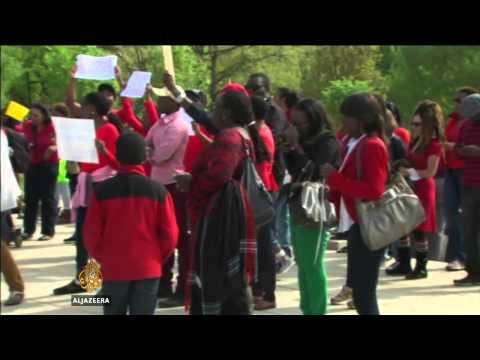 Nigeria leader in abducted schoolgirls plea