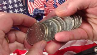 ALL AMERICAN SILVER STACKING VIDEO!!!