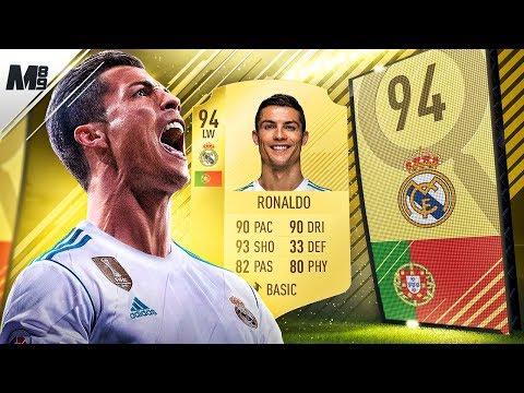FIFA 18 RONALDO REVIEW | 94 RONALDO PLAYER REVIEW | FIFA 18 ULTIMATE TEAM