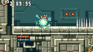 Sonic Advance - Stage 6 Act 1 - Egg Rocket Zone