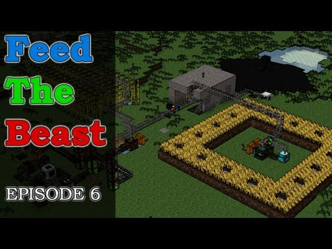 HermitCraft Feed The Beast {E6} Forestry Power Plant Overview