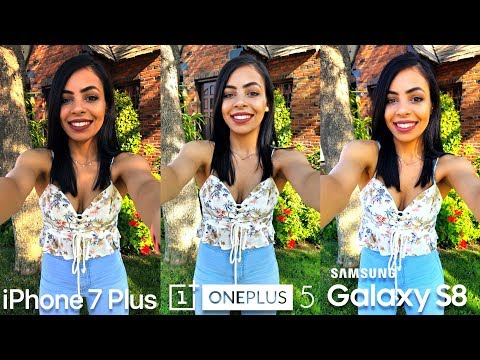 OnePlus 5 Camera vs iPhone 7 Plus vs Galaxy S8!