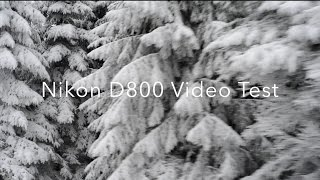 Nikon D800 Test Video Sample in 1 minute [1080p]