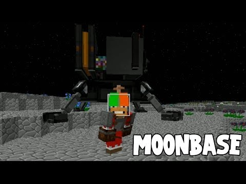 Minecraft - Race To The Moon - Moon Base! [54]