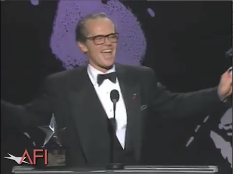 Jack Nicholson the Accepts AFI Life Achievement Award in 1994