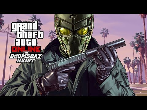 GTA V DOOMSDAY HEIST All Cutscenes (Game Movie) 1080p HD