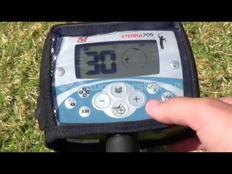 Minelab Xterra 705 settings