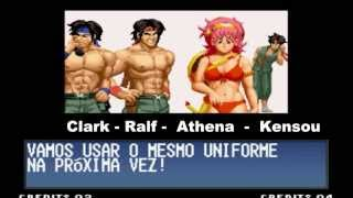 The King Of Fighters 97 - Final Secreto - Athena,Ralf e Clark - Old Heroes Team - (PT-BR)