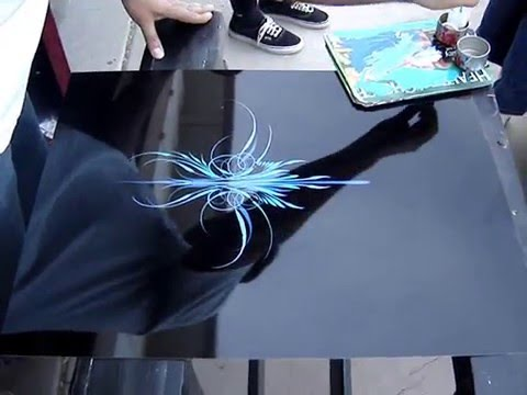 "Pinstriping: Juan ""The Wand"" Marroquin"