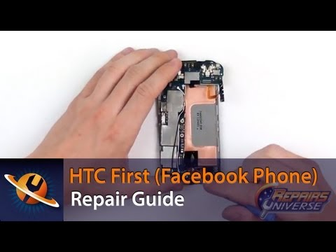 HTC First (Facebook Phone) Screen Replacement Repair Guide