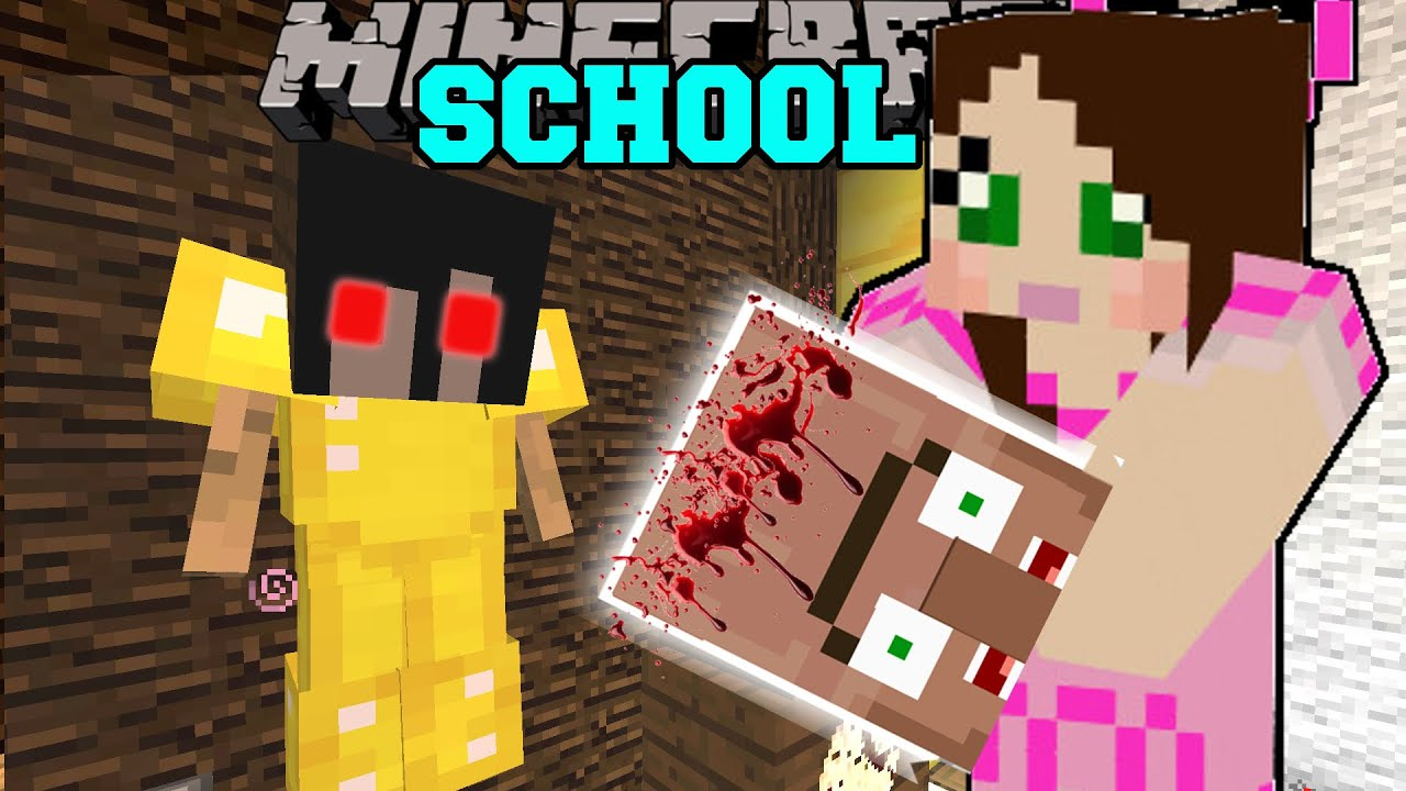 Minecraft: TERRIFYING SCHOOL! Custom Map