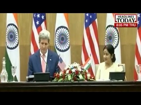 Sushma Swaraj's tough talk on snoooping with John Kerry