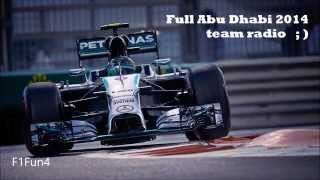 Nico Rosberg BEST team radio compilation EVER!