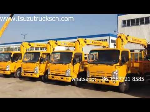 How to inspection ISUZU Truck Mounted Crane 6.3ton?
