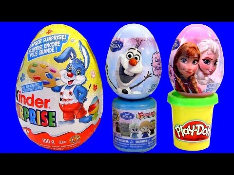 Disney Frozen Fashems SURPRISE MyLittlePony Squishy Pops Kinder Egg Play-Doh Clay PeppaPig DC toys