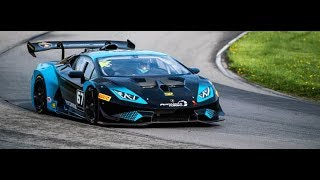 Shea Holbrook interview at the first race of the 2018 Lamborghini Super Trofeo North America series