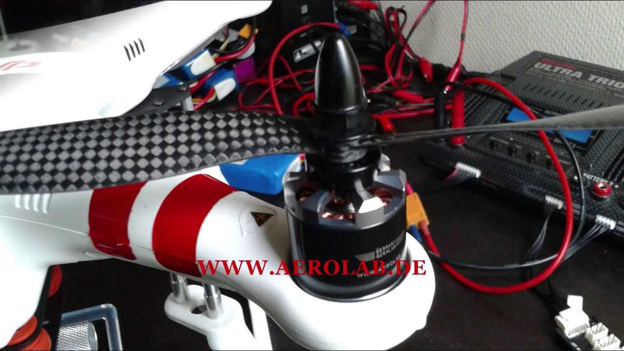 Dji Phantom Motor Upgrade Mt2216 900kv Youtube
