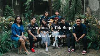 Download lagu HIVI! - Tersenyum, Untuk Siapa? with cast of Mariposa (Live Session)