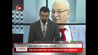 Cumartesi   Av.Ali Acar AkParti Odunpazarı İlçe Bşk