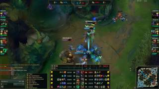 krâne and İm3hp7 bot lane trade ( thresh sivir )