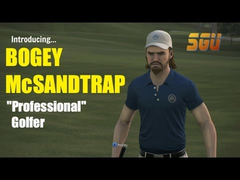 Introducing Bogey McSandtrap (Tiger Woods 14)