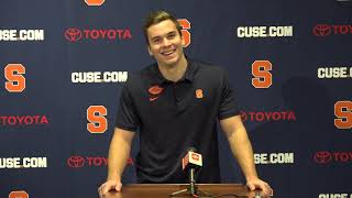 Eric Dungey Press Conference | Bowl Announcement
