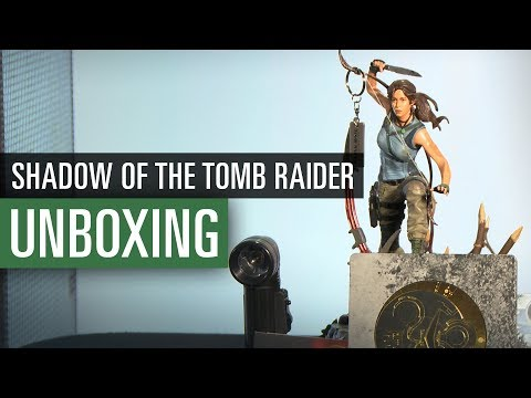 UNBOXING Shadow of the Tomb Raider | Ultimate Edition