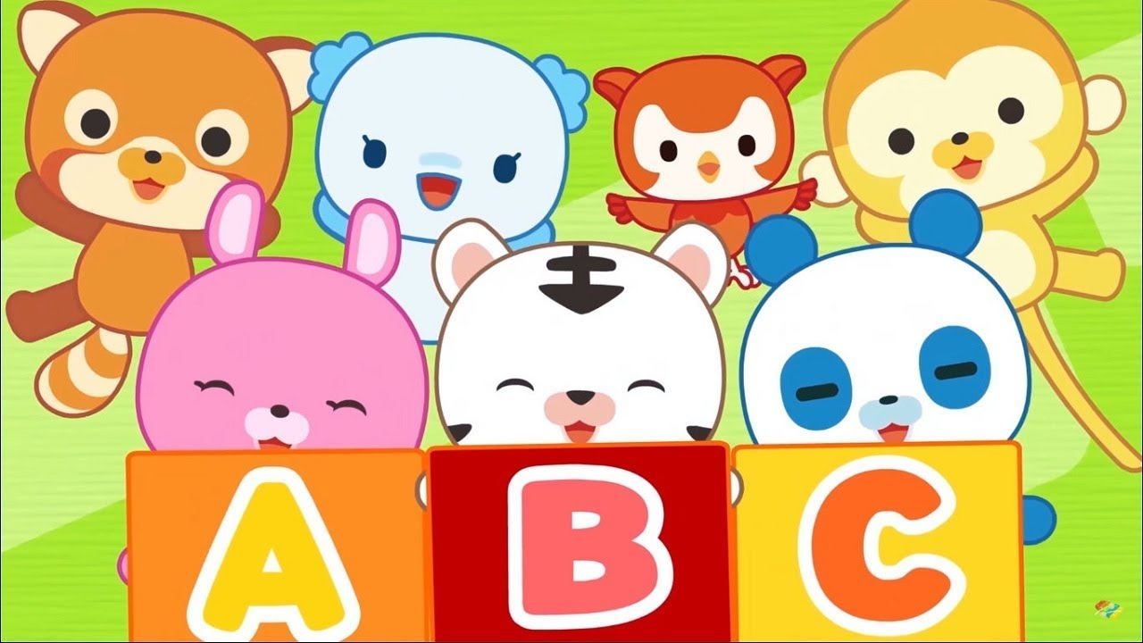 Детские песенки - The ABC Song: Learn Alphabet - ENGLISH song for kids