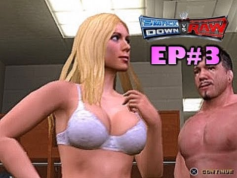 WWE Smackdown! vs RAW: Season Mode - EP.3 - SEX