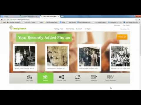 Changing the default photo on FamilySearch Family Tree