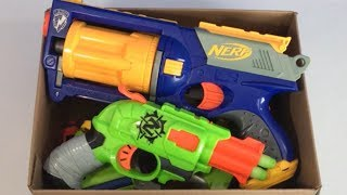 Box of Toys Toy Blasters for Kids Nerf Blasters Toy Weapons
