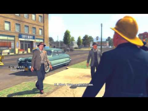 L.A. Noire: The Gas Man 5 STAR Walkthrough Case 1 Part 1 [The Arson Cases] Let's Play [HD]
