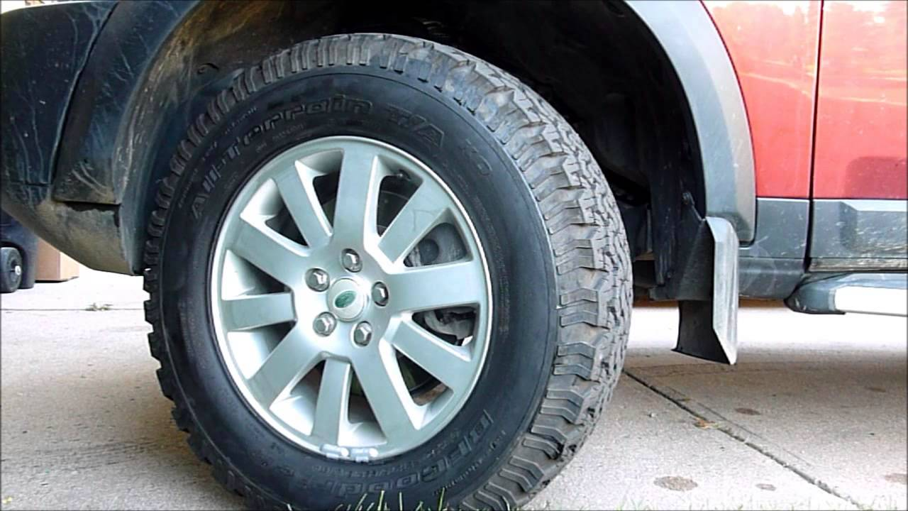 Best Snow Tires >> Land Rover LR3 - Best Off Road Tires - YouTube
