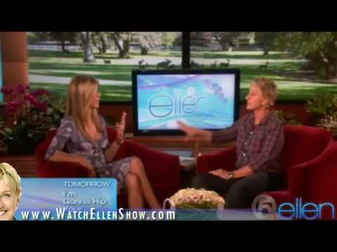 Jennifer Aniston on Ellen Degeneres Show part 2 / September 16, 2009