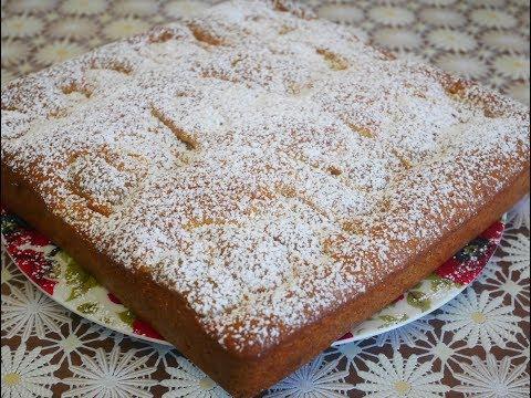ПИРОГ рецепт  ВКУСНЫЙ и БЫСТРЫЙ пирог с ГРУШЕЙ заливной пирог ПРОСТОЙ пирог в духовке Pie recipe