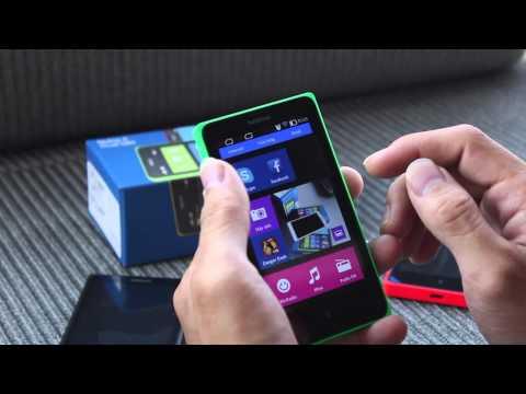 Đập hộp Nokia X