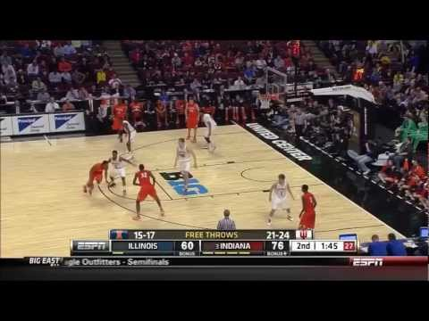 Victor Oladipo - 360 Dunk vs Illinois - 3/15/2013