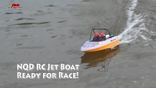 NDQ Jet boats Tear into Toy grade RC JetBoat racing fun at Sengkang riverside park