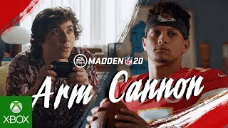 Madden NFL 20 | Arm Cannon ft. Patrick Mahomes