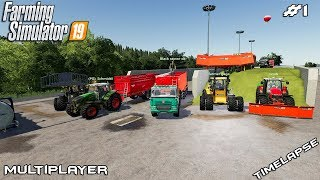 Very very big silage harvest | Peter Vill | Multiplayer Farming Simulator 19 | Episode 1