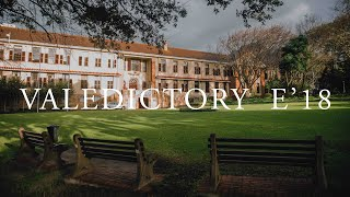 a film for E'18 | Rondebosch Boys High School Valedictory 2018  from Matthew Eaton