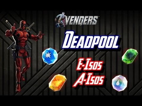 ISOS PARA O DEADPOOL - Marvel Avengers Alliance