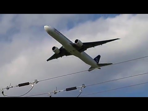 Star Alliance Air India Takeoff Rwy 28R Chicago O'Hare Airport