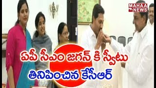YS Jagan Meets CM KCR To Invite For His Swearing In Ceremony