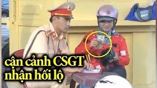 Image result for cảnh sát giao thông ăn hối lộ