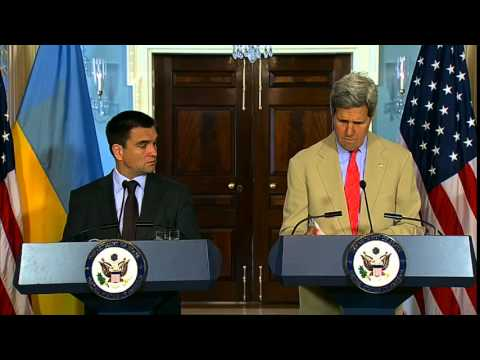 Secretary Kerry Meets With Ukrainian Foreign Minister Klimkin
