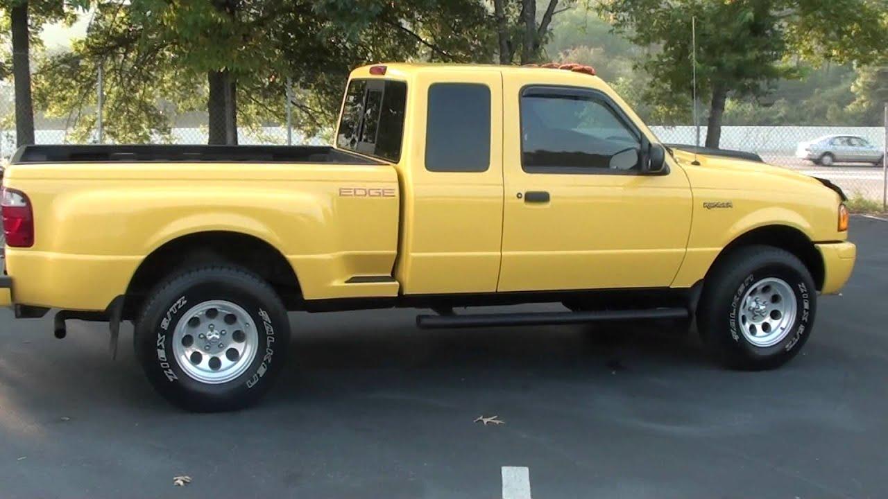 For Sale 2001 Ford Ranger Edge Only 61k Miles Stk