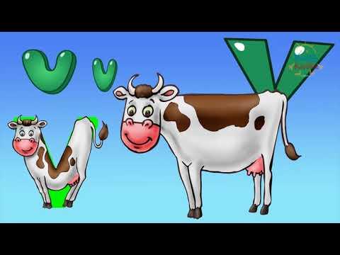 ABECEDARIO CON ANIMALETRAS -Aprende abecedario en español con los animales