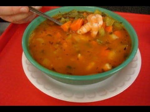 Shrimp and Fish Soup - Caldo de Pescado y Camaron (Mex Style)